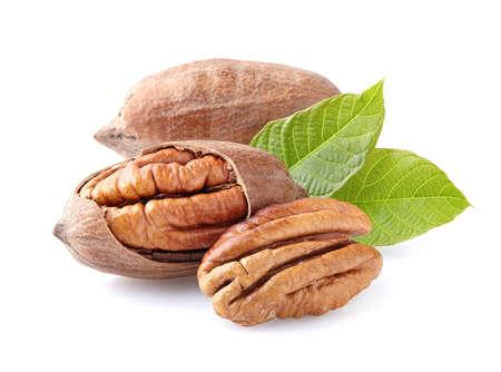 Pecan nuts Standard-Bild
