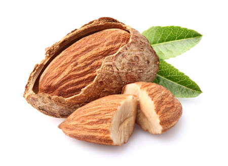almond: Almonds kernel Stock Photo