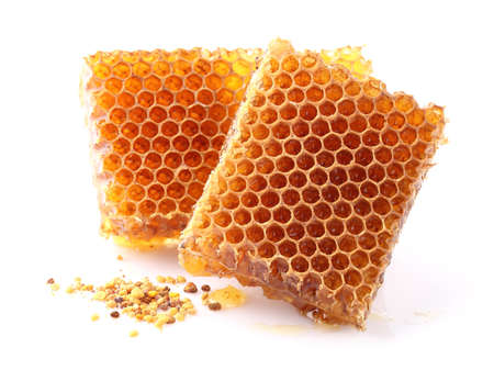 honing pollen