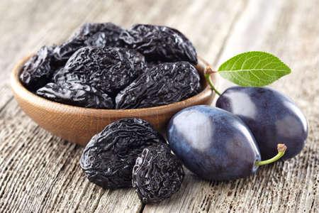 Plum with prunes Stockfoto