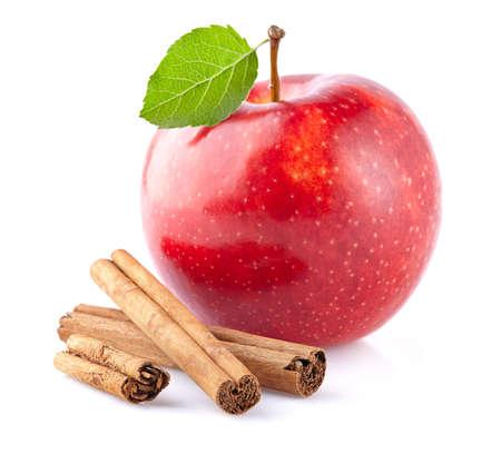 Apple mit Zimt Standard-Bild - 49254586