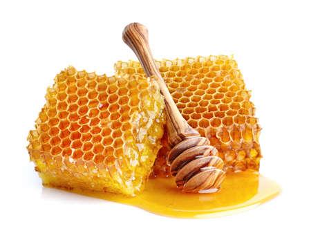 Honeycombs in closeup