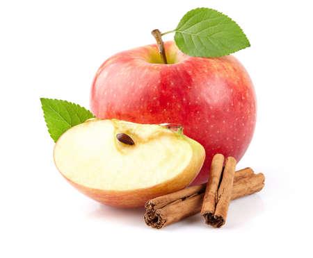 cinnamon bark: Apple with cinnamon