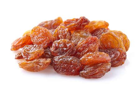 white grape: Heap raisins in closeup