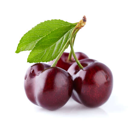 Sweet cherry in closeup Stock Photo