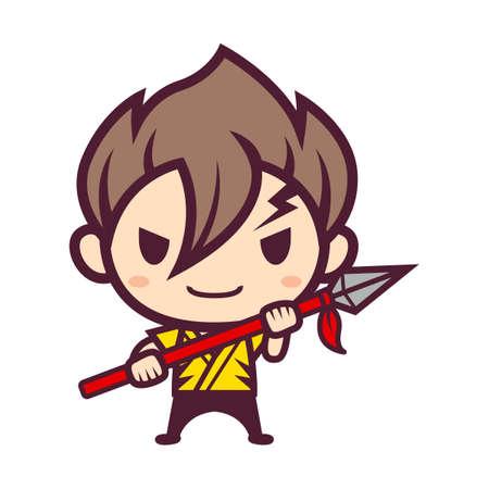 Kosuke Akoyama Character Illustration