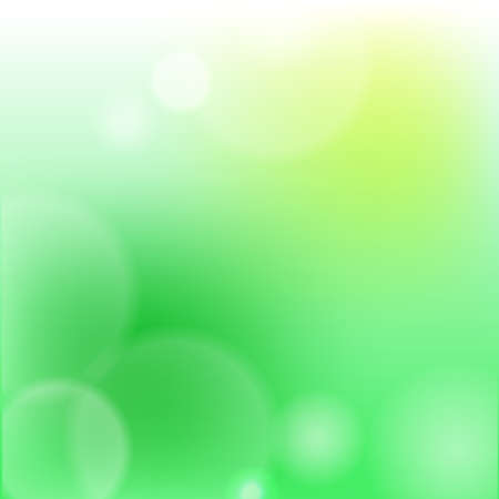 Green background illustrations