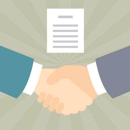Handshake agreements