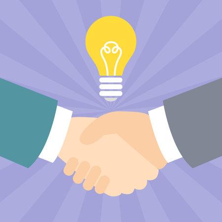 Handshake Ideas Illustration