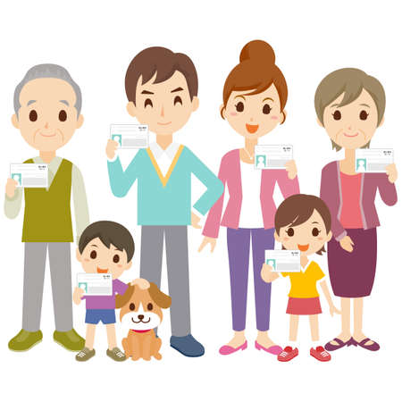 Family Certificate ID Illustration