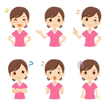 Girl Child Facial Expression Pose