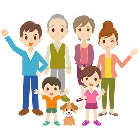 Family People  Illustration