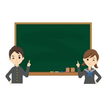 Student Blackboard Background