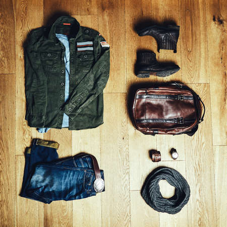 Mens clothes and accessories