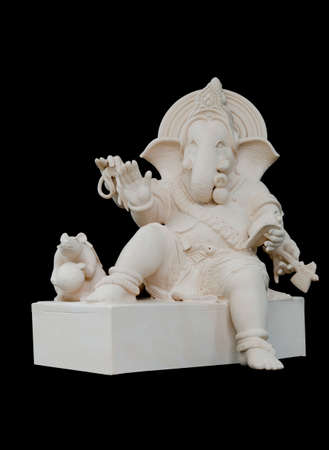 eatern: Ganesha Sculpture in straight face pose  Stock Photo