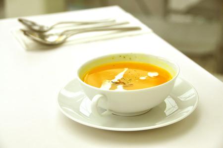 soup bowl: soup