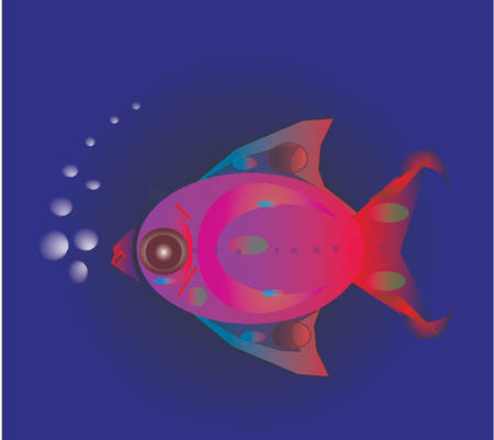 air bubble: fish with air bubble