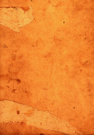 scraped: old scraped and spotted paper Stock Photo
