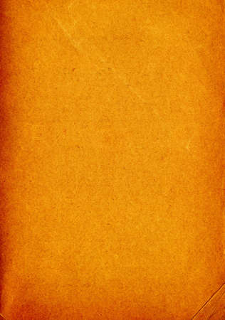 discolored: brown old textured scrap paper Stock Photo