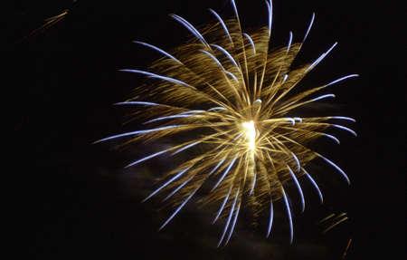 fireworks explosion ball