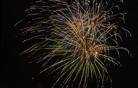 fireworks explosion ball photo
