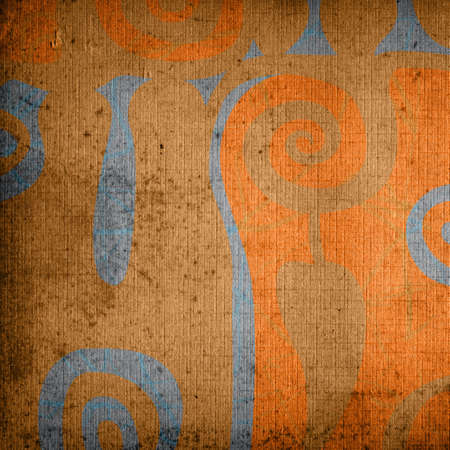 stilish: abstract design on grunge background