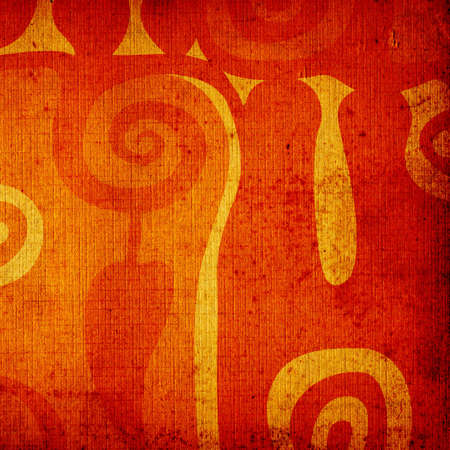 abstract design on grunge background Stock Photo - 730175