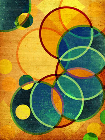 manic: abstract retro shapes