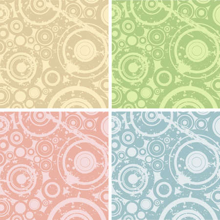grunge circles illustration; design elements for backgrounds Stock Illustration - 1327290