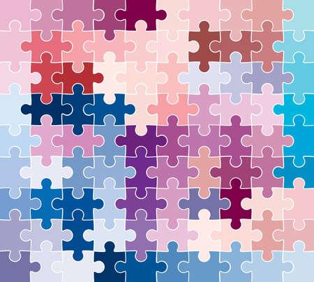 jigsaw puzzle pattern Stock Photo - 2256837