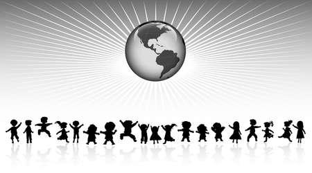 universal love: Amigos y el planeta Tierra