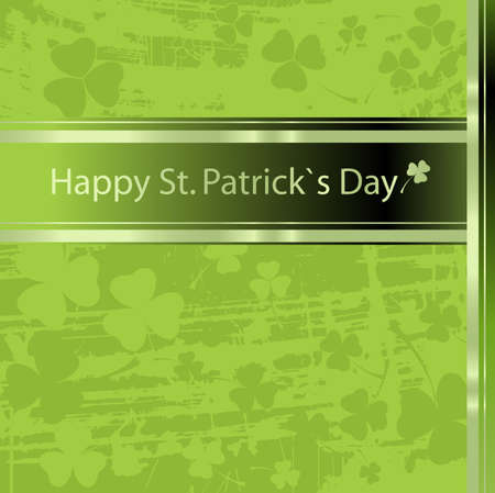 leafed: Festive design for St. Patricks Day Stock Photo