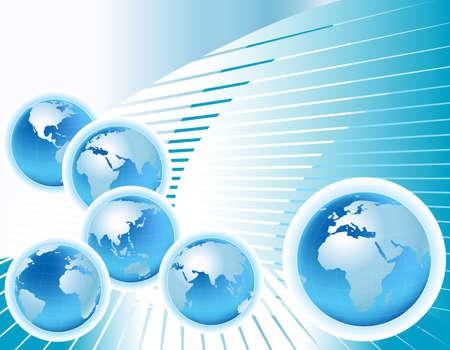 globalization: globalization Stock Photo