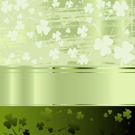 irish: Festive design for St. Patricks Day Stock Photo
