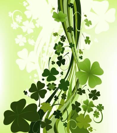 fourleafed: design for St. Patricks Day