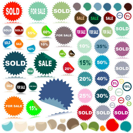 sale stickers Stock Photo - 2639249