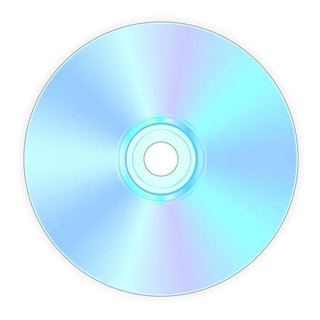 illustration of back side of compact disk illustration