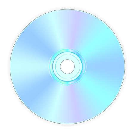 illustration of back side of compact disk Stock Illustration - 3016337