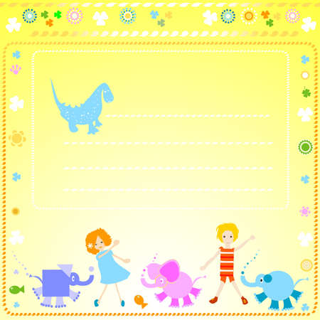 colorful background for kids photo