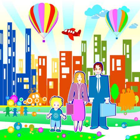 airplain: Children world: family and community