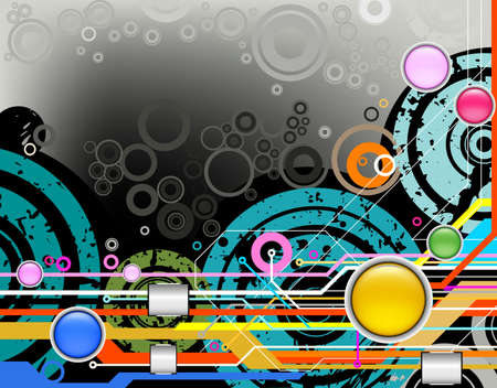 technology style abstract background