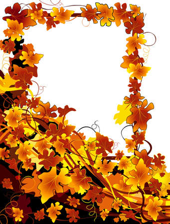 autumnal background Stock Photo - 4258468
