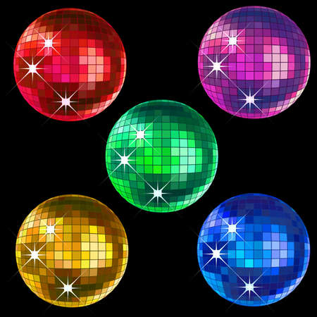 retro party backgrounds, disco balls photo