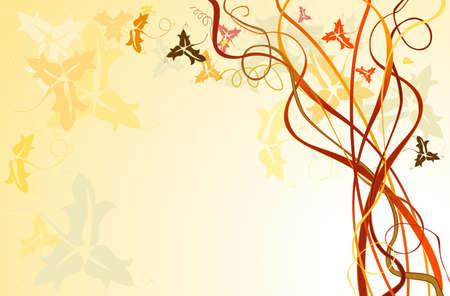 autumn background Stock Photo - 5596295