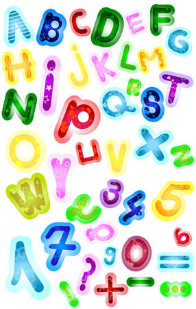 abc, seamless alphabet;  Stock Photo - 5617369
