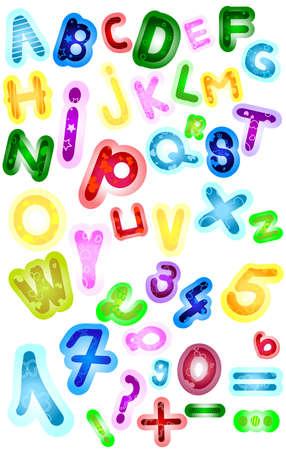 abc, seamless alphabet; Stock Photo - 5617369