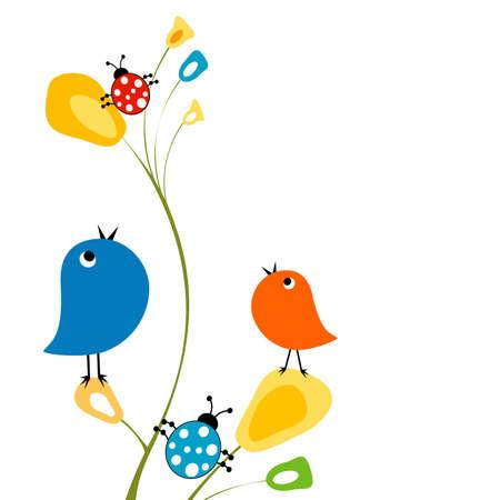 mosca caricatura: funny fondo, la naturaleza