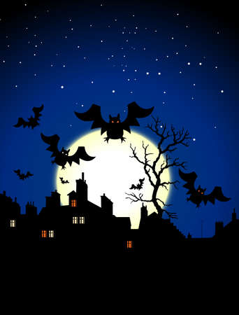 halloween night Stock Photo - 5617361