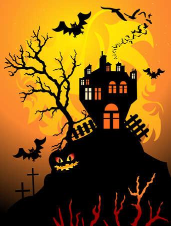 halloween night photo