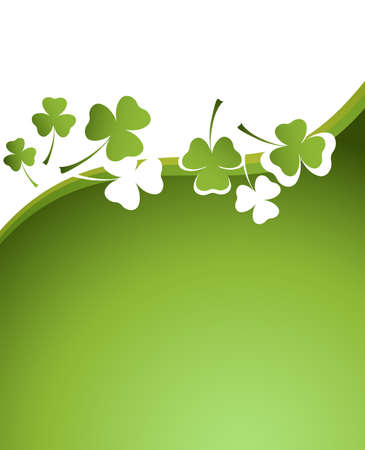 clover background for the St. Patricks Day photo